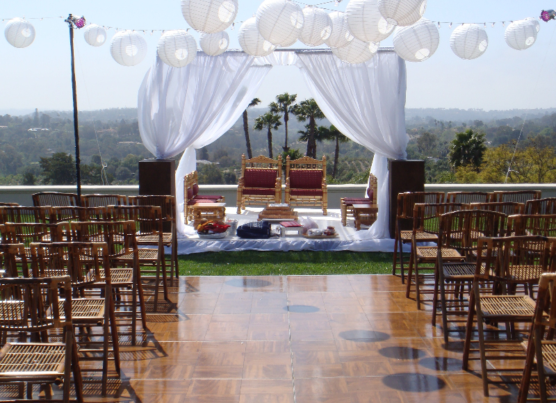 Indian Wedding Mandap Decoration In California Usa